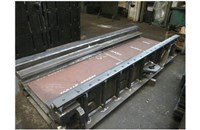 Weldments for mine machines